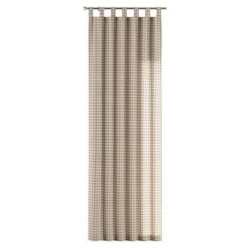 Závěs na poutkách 130 x 260 cm v kolekci Quadro, látka: 136-06