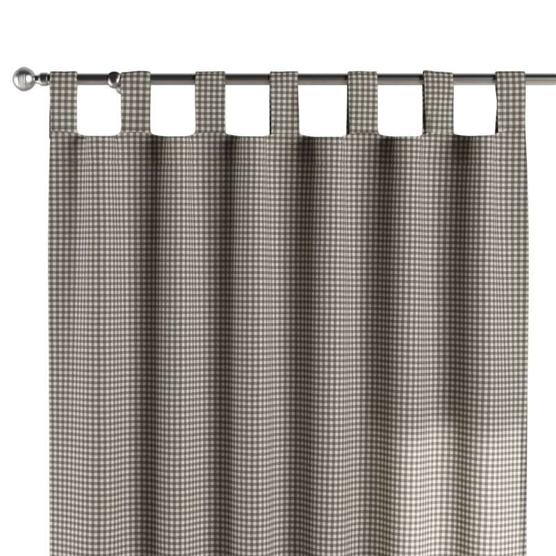 Záves na pútkach V kolekcii Quadro, tkanina: 136-10