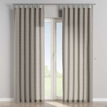 Tab top curtains in collection Quadro, fabric: 136-10