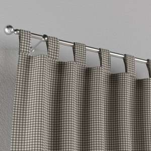 Gardin med stropper 1 stk. 130 x 260 cm fra kolleksjonen Quadro, Stoffets bredde: 136-10