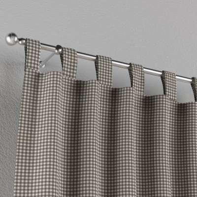 Zasłona na szelkach 1 szt. w kolekcji Quadro, tkanina: 136-10