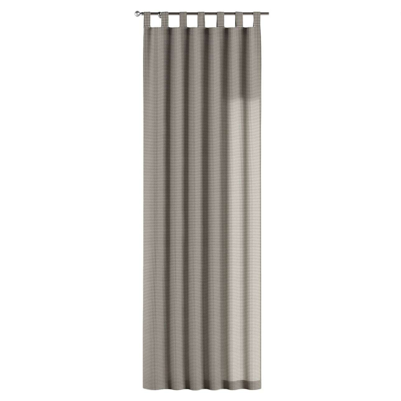 Gardin med stropper 1 stk. fra kolleksjonen Quadro, Stoffets bredde: 136-10