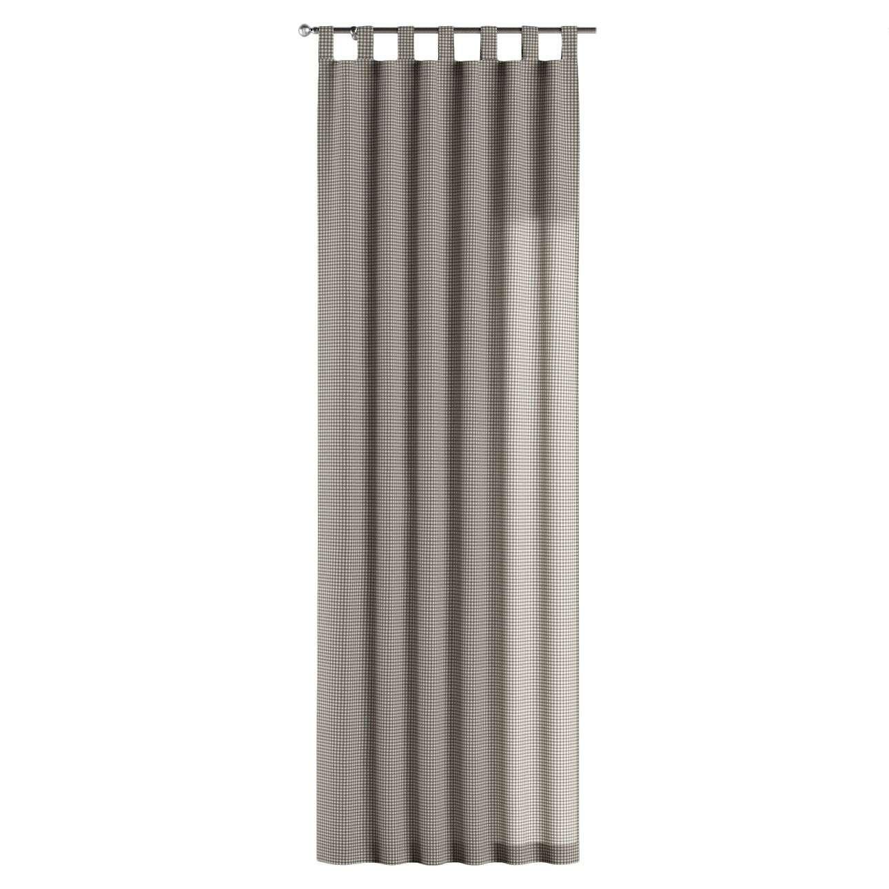 Závěs na poutka 130 x 260 cm v kolekci Quadro, látka: 136-10