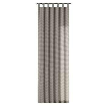 Gardin med stropper 1 stk. 130 × 260 cm fra kolleksjonen Quadro, Stoffets bredde: 136-10
