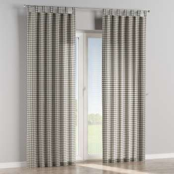 Tab top curtains in collection Quadro, fabric: 136-11