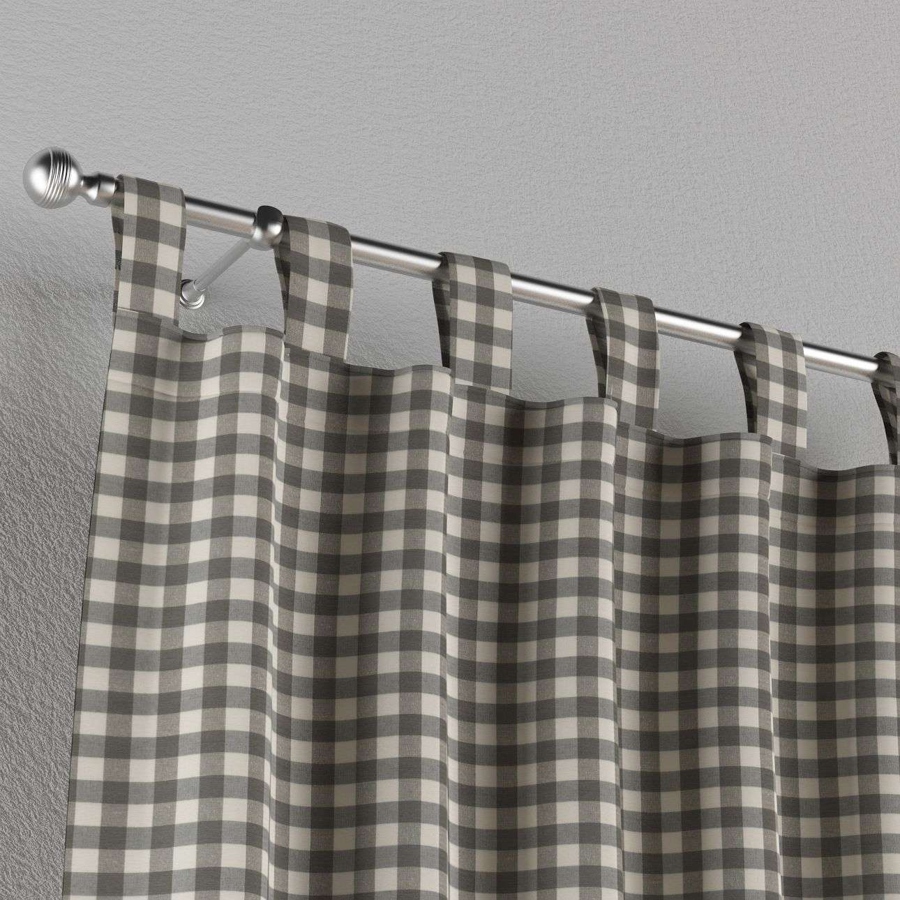 Tab top curtains 130 x 260 cm (51 x 102 inch) in collection Quadro, fabric: 136-11
