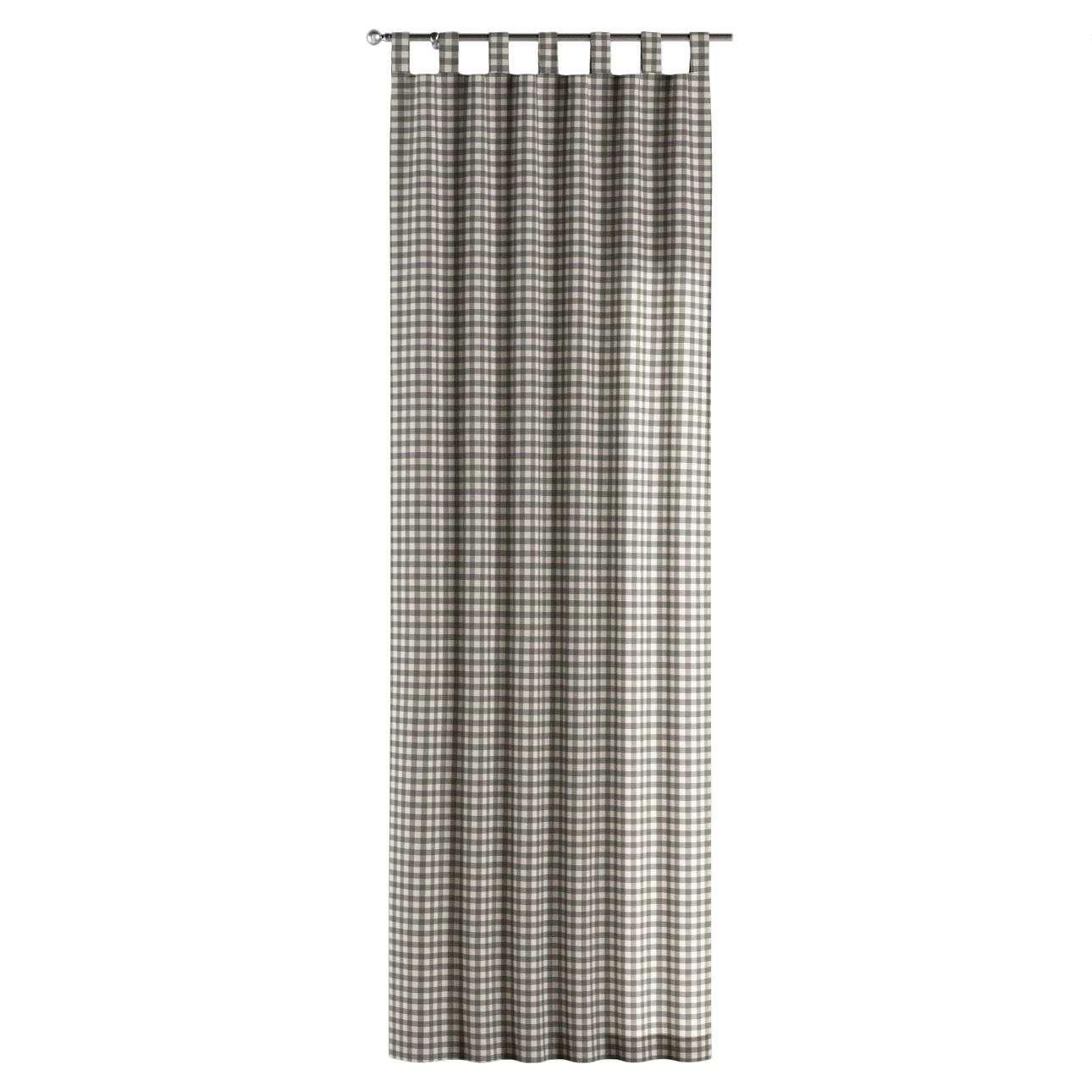 Zasłona na szelkach 1 szt. 1szt 130x260 cm w kolekcji Quadro, tkanina: 136-11