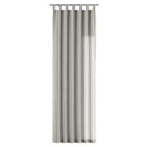 Gardin med stropper 1 stk. 130 x 260 cm fra kolleksjonen Quadro, Stoffets bredde: 136-12