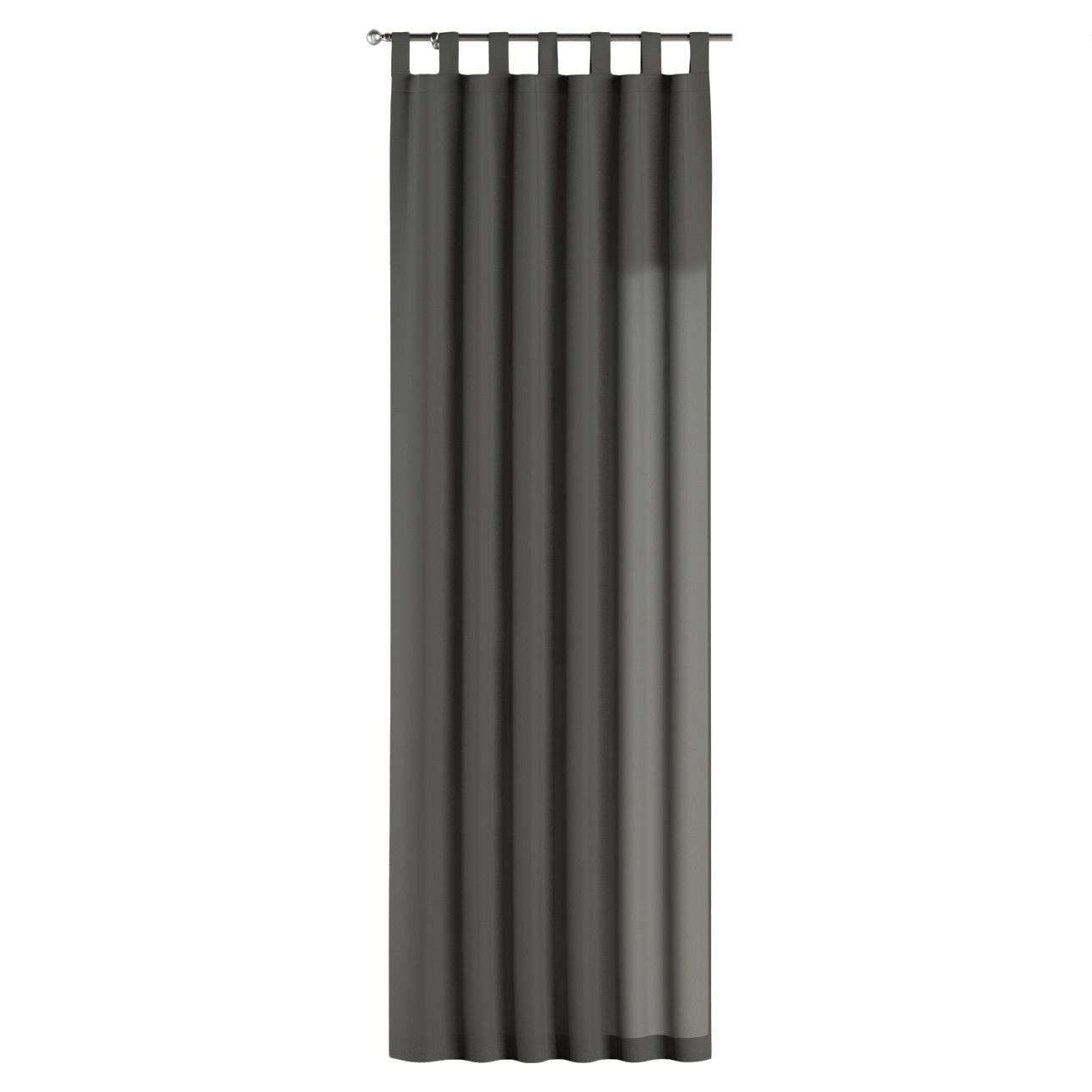 Zasłona na szelkach 1 szt. 1szt 130x260 cm w kolekcji Quadro, tkanina: 136-14