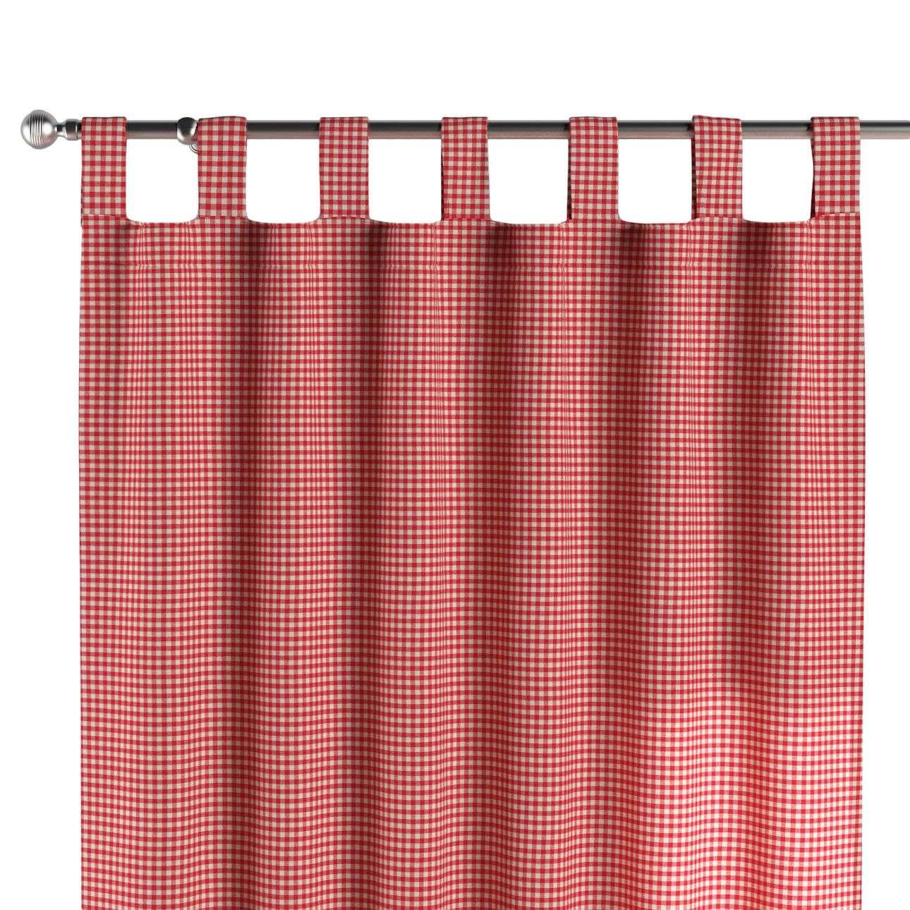 Záves na pútkach V kolekcii Quadro, tkanina: 136-15