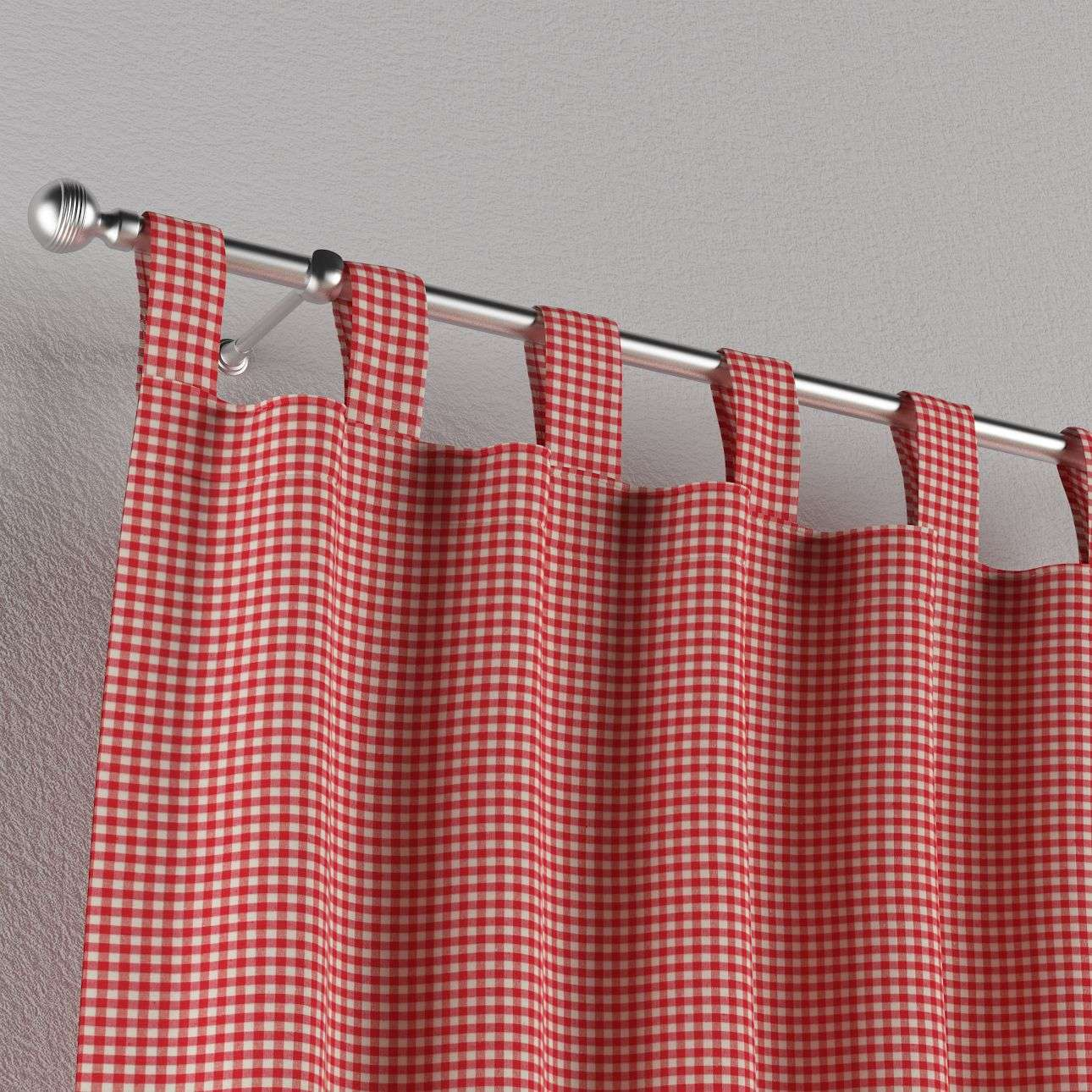 Tab top curtains 130 x 260 cm (51 x 102 inch) in collection Quadro, fabric: 136-15