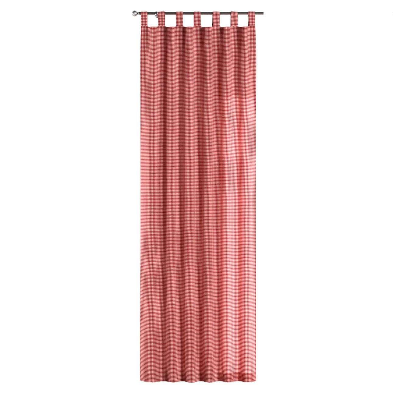 Kilpinio klostavimo užuolaidos 130 x 260 cm (plotis x ilgis) kolekcijoje Quadro, audinys: 136-15
