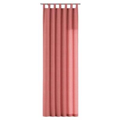 Zasłona na szelkach 1 szt. w kolekcji Quadro, tkanina: 136-15