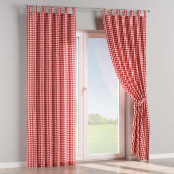 Tab top curtains 130 x 260 cm (51 x 102 inch) in collection Quadro, fabric: 136-16