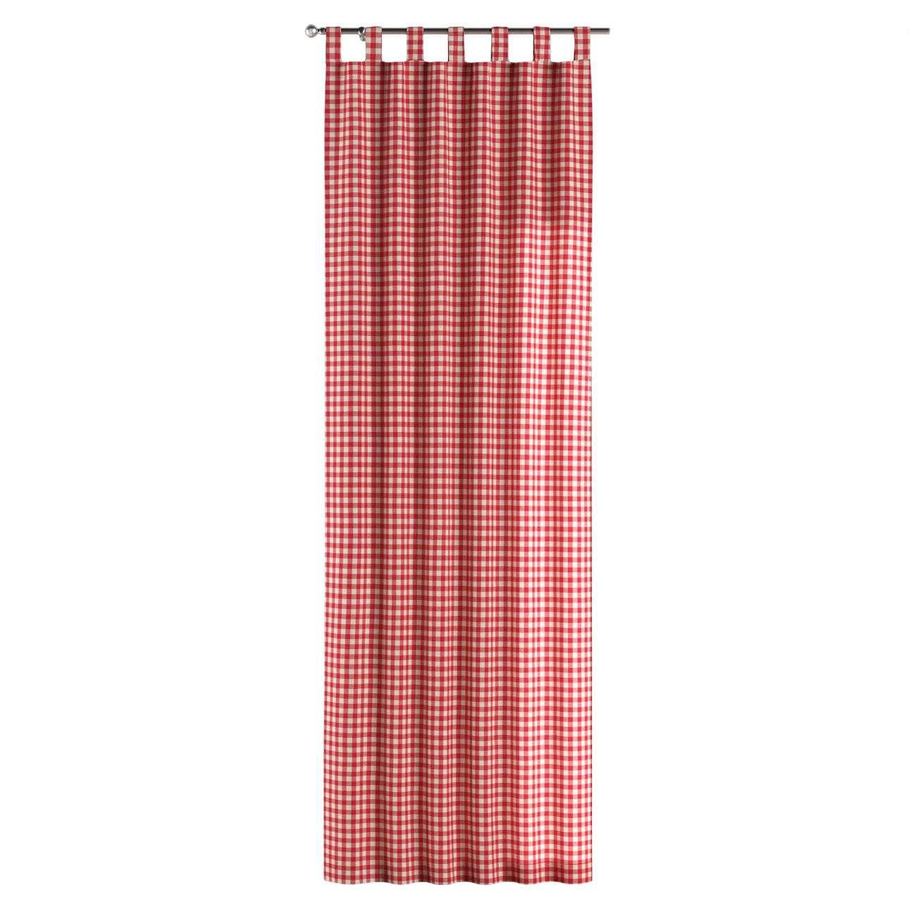 Kilpinio klostavimo užuolaidos 130 x 260 cm (plotis x ilgis) kolekcijoje Quadro, audinys: 136-16