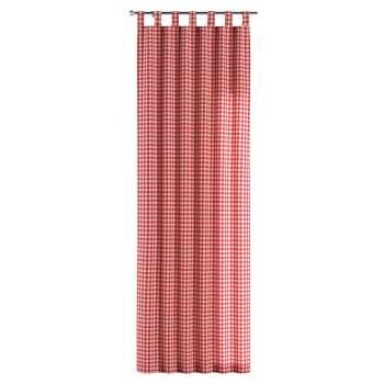Zasłona na szelkach 1 szt. 1szt 130x260 cm w kolekcji Quadro, tkanina: 136-16