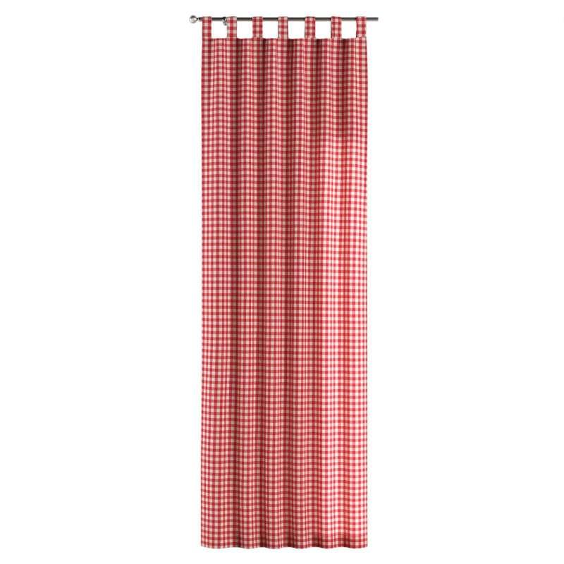 Zasłona na szelkach 1 szt. w kolekcji Quadro, tkanina: 136-16