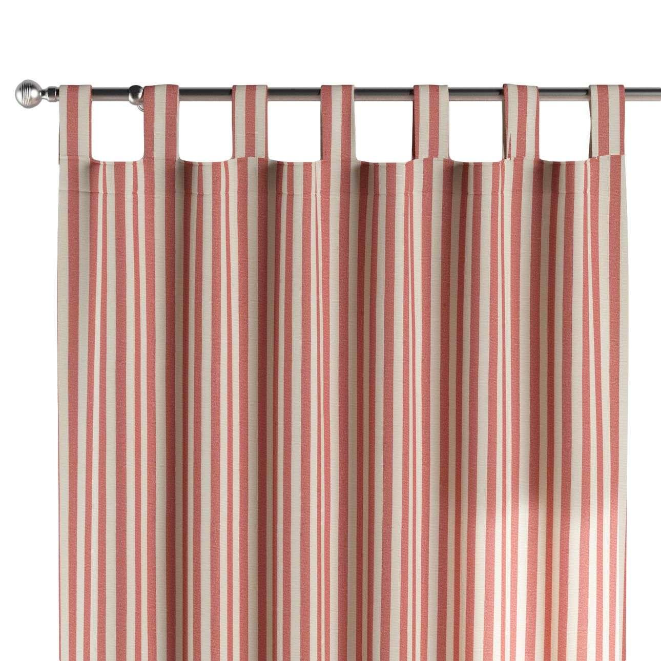 Gardin med stropper 1 stk. 130 × 260 cm fra kolleksjonen Quadro, Stoffets bredde: 136-17