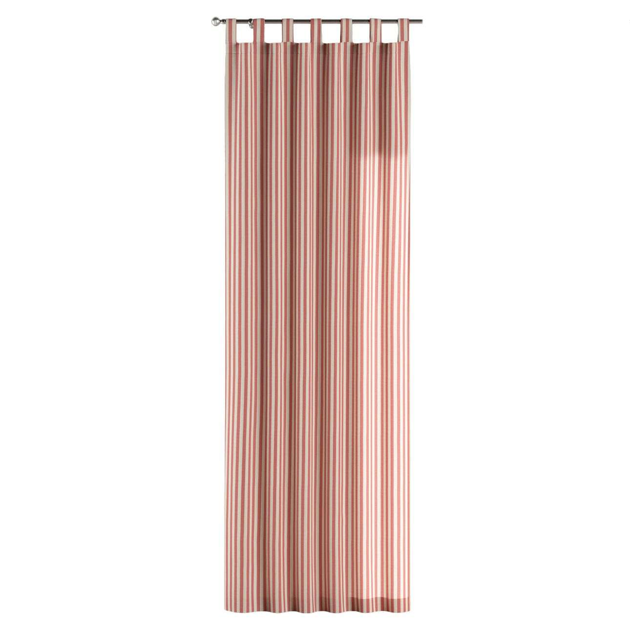 Zasłona na szelkach 1 szt. 1szt 130x260 cm w kolekcji Quadro, tkanina: 136-17