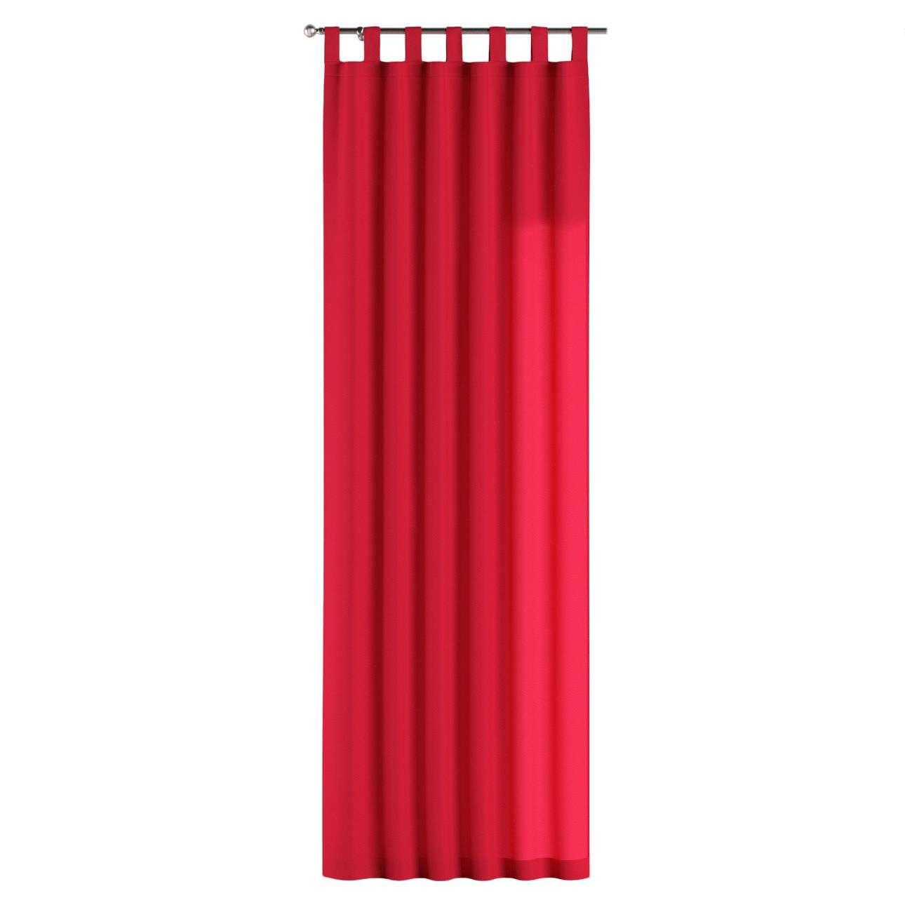 Gardin med stropper 1 stk. 130 × 260 cm fra kolleksjonen Quadro, Stoffets bredde: 136-19