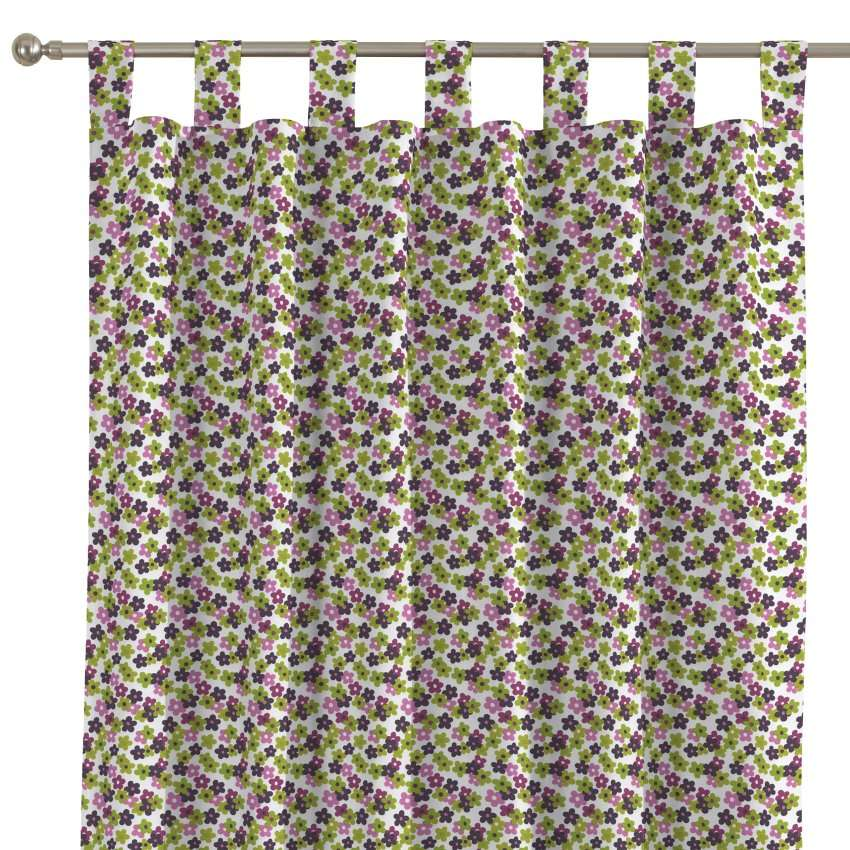 Tab top curtains 130 × 260 cm (51 × 102 inch) in collection SALE, fabric: 137-55