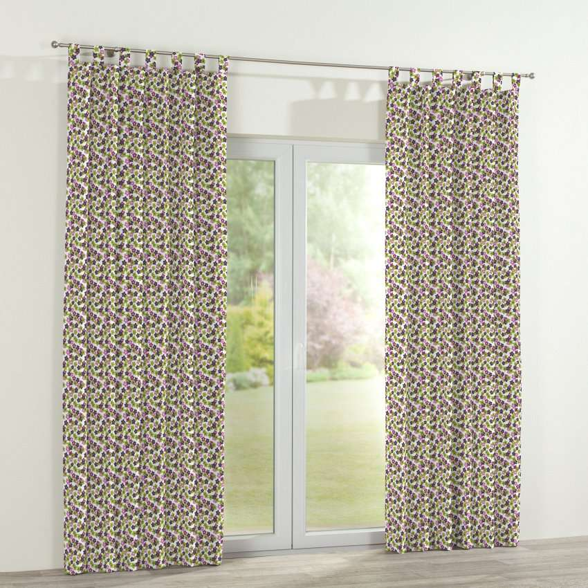 Tab top curtains in collection SALE, fabric: 137-55