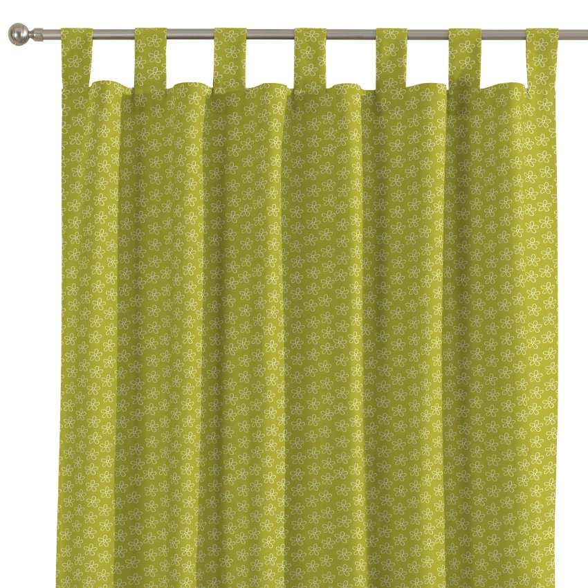 Tab top curtains 130 × 260 cm (51 × 102 inch) in collection SALE, fabric: 137-58