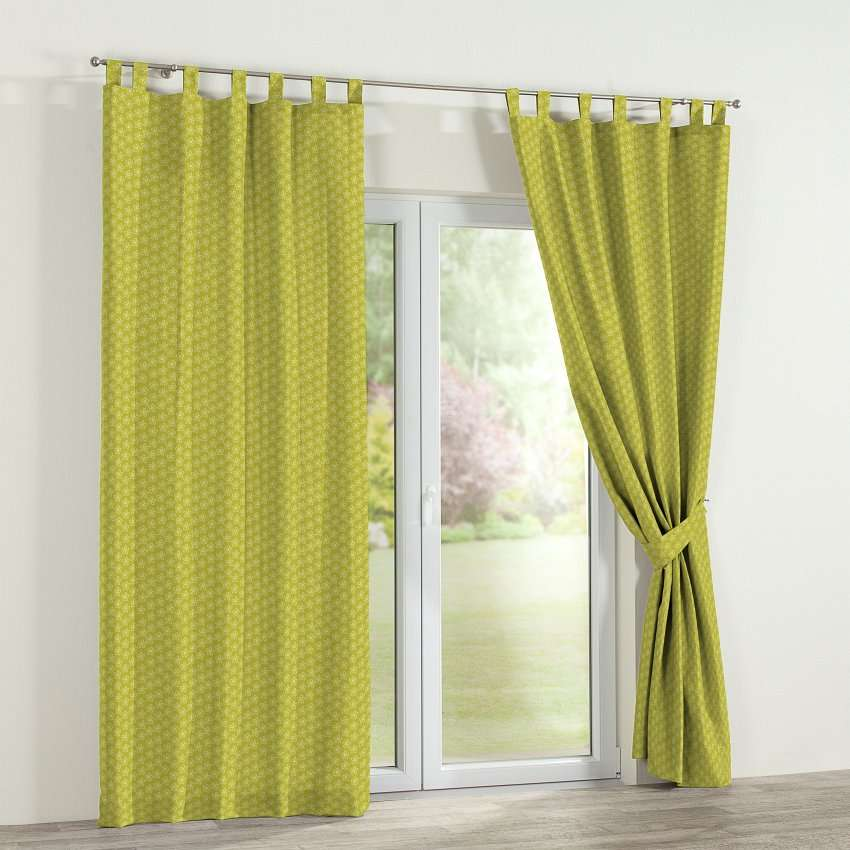 Tab top curtains 130 x 260 cm (51 x 102 inch) in collection SALE, fabric: 137-58