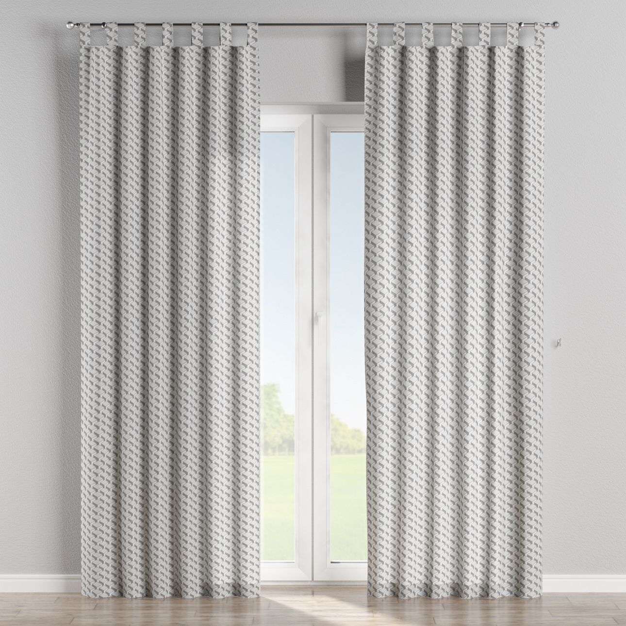 Tab top curtains in collection Rustica, fabric: 138-18