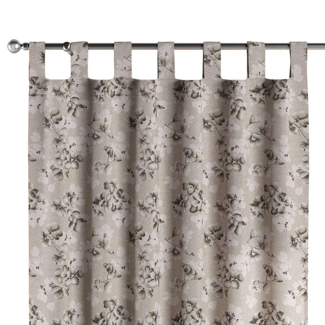 Tab top curtains 130 x 260 cm (51 x 102 inch) in collection Rustica, fabric: 138-14