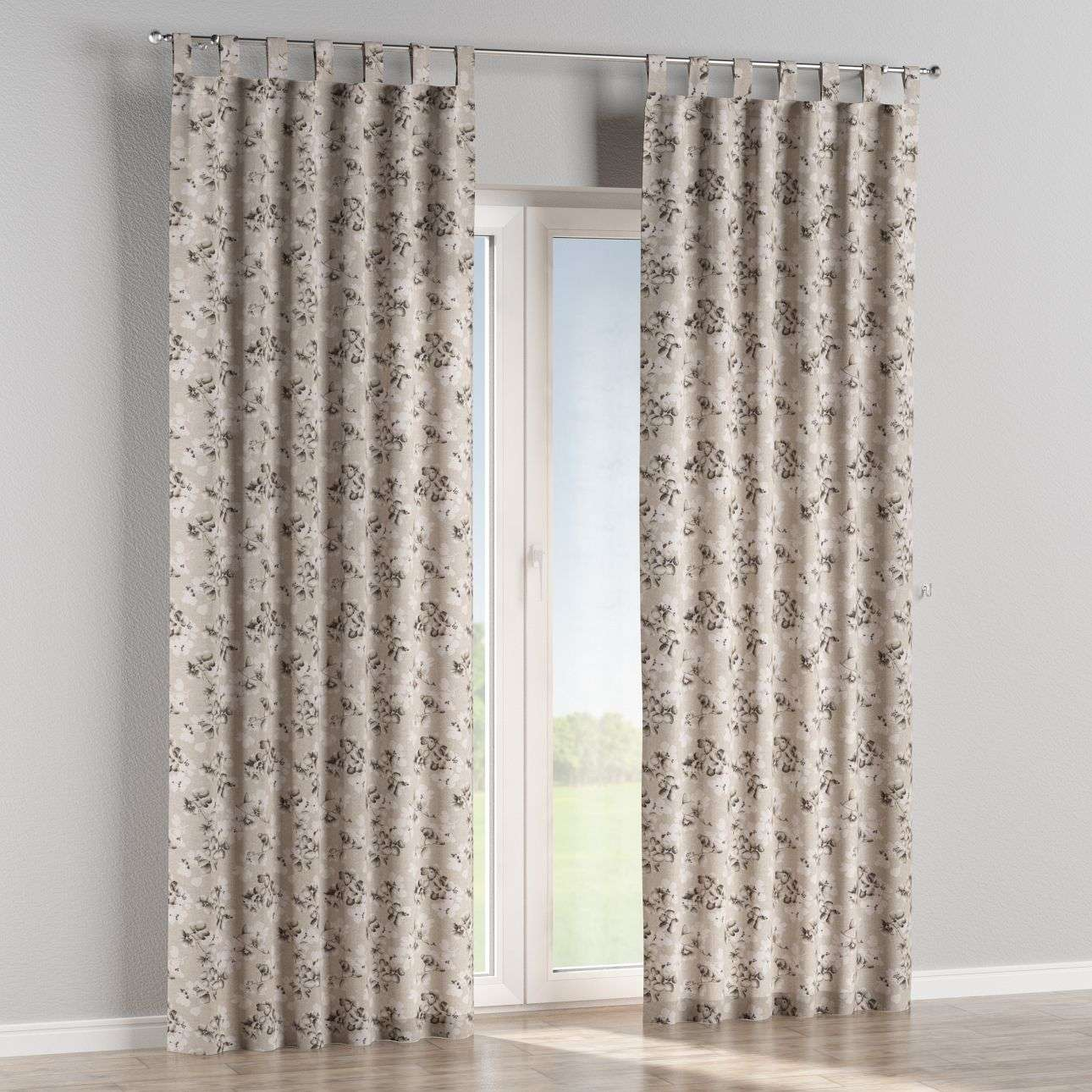 Tab top curtains 130 × 260 cm (51 × 102 inch) in collection Rustica, fabric: 138-14