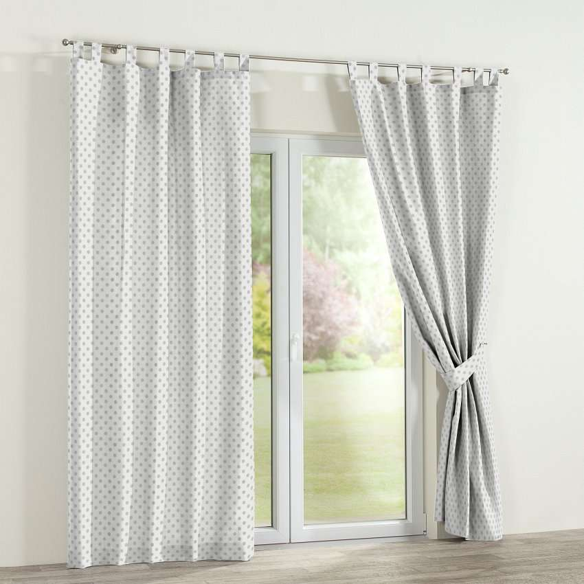 Tab top curtains 130 x 260 cm (51 x 102 inch) in collection Ashley, fabric: 137-68