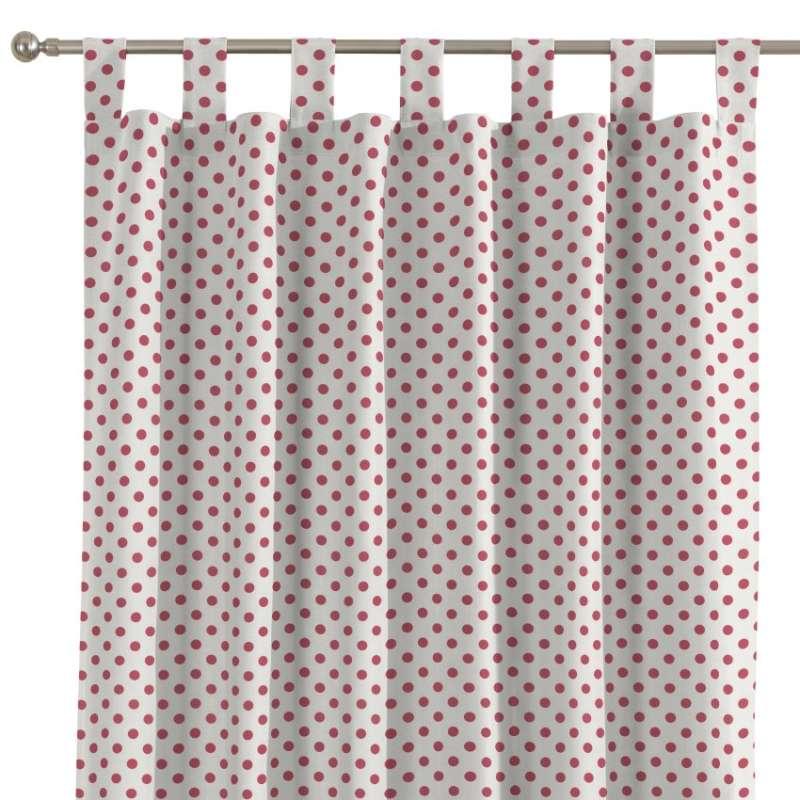 Zasłona na szelkach 1 szt. w kolekcji Ashley, tkanina: 137-70