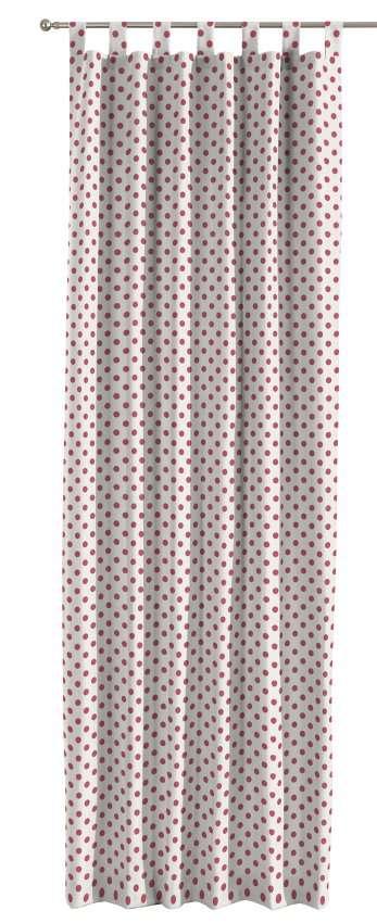 Gardin med hällor 1 längd 130 x 260 cm i kollektionen Ashley , Tyg: 137-70