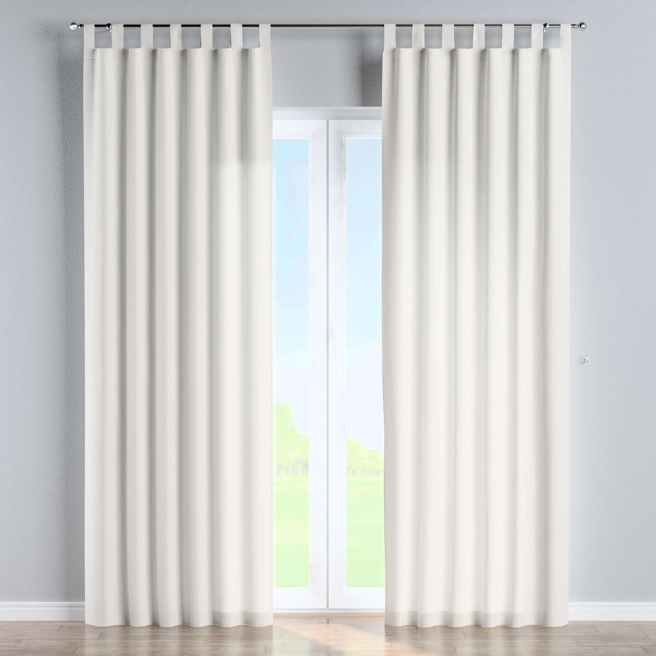 Tab top curtains in collection Panama Cotton, fabric: 702-34