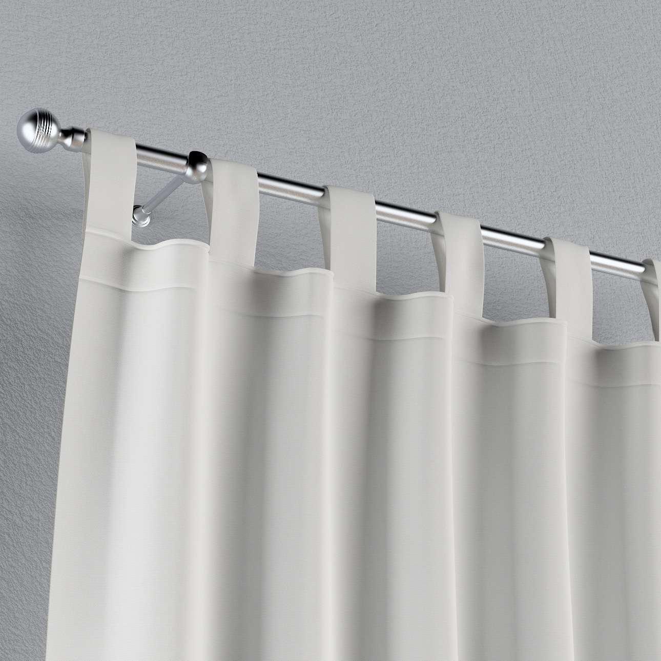 Gardin med hällor 1 längd 130 × 260 cm i kollektionen Panama Cotton , Tyg: 702-34