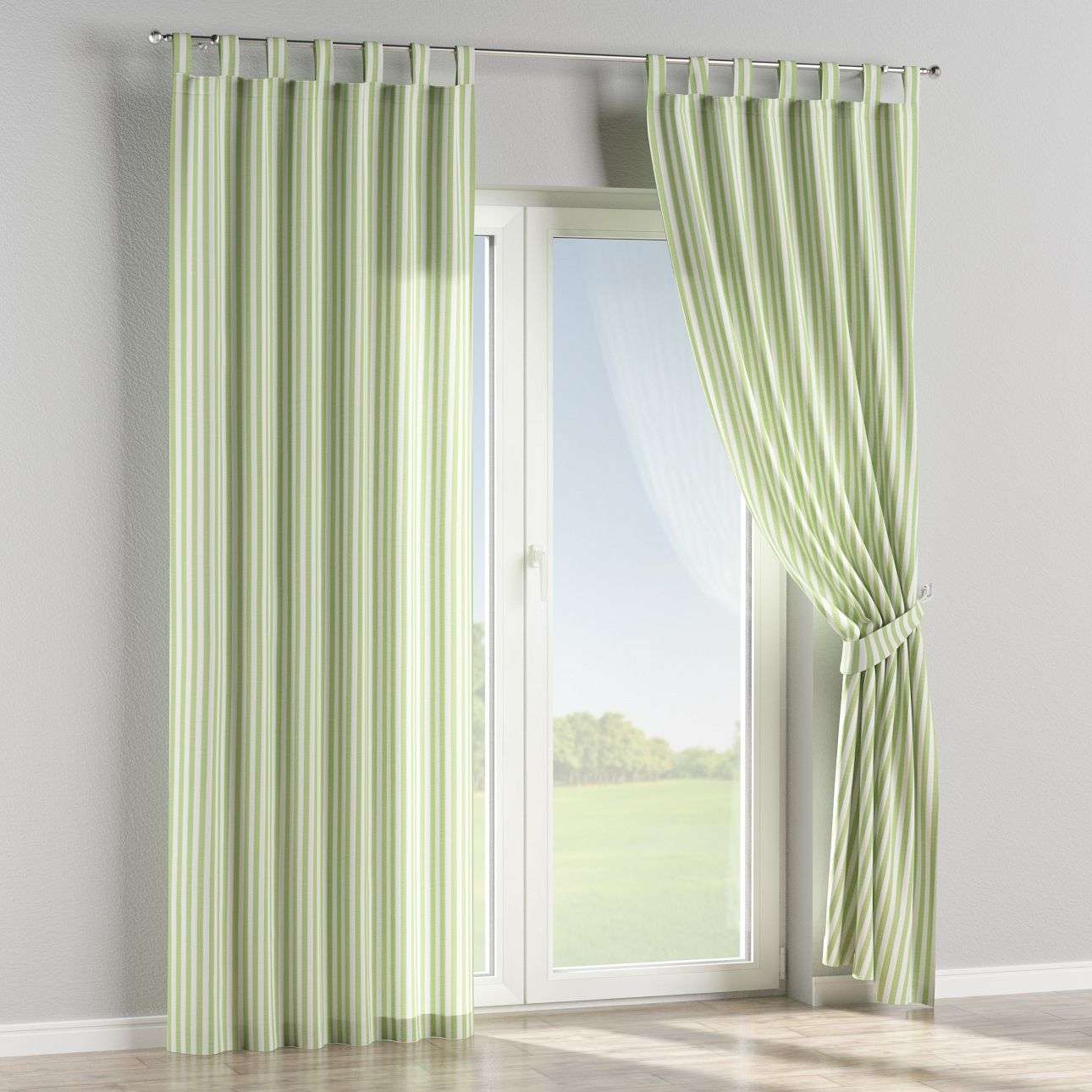 Tab top curtains 130 × 260 cm (51 × 102 inch) in collection Quadro, fabric: 136-35