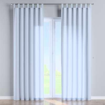 Füles függöny 133-35 világoskék Méteráru Loneta Lakástextil