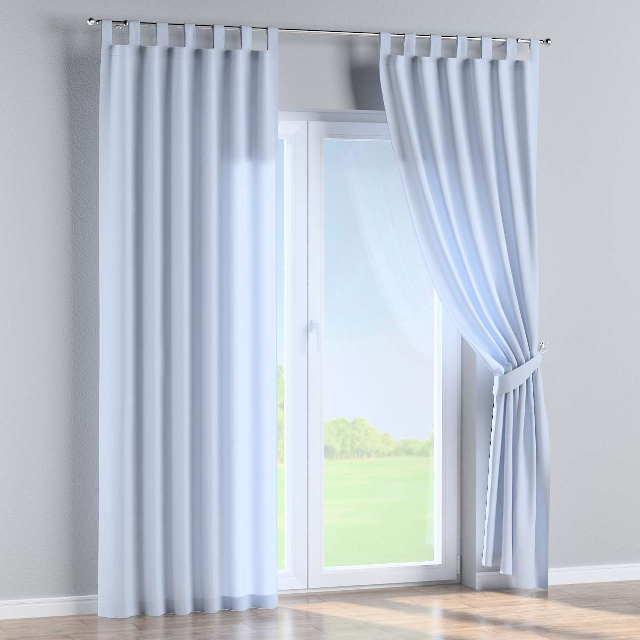 Tab top curtains in collection Loneta , fabric: 133-35