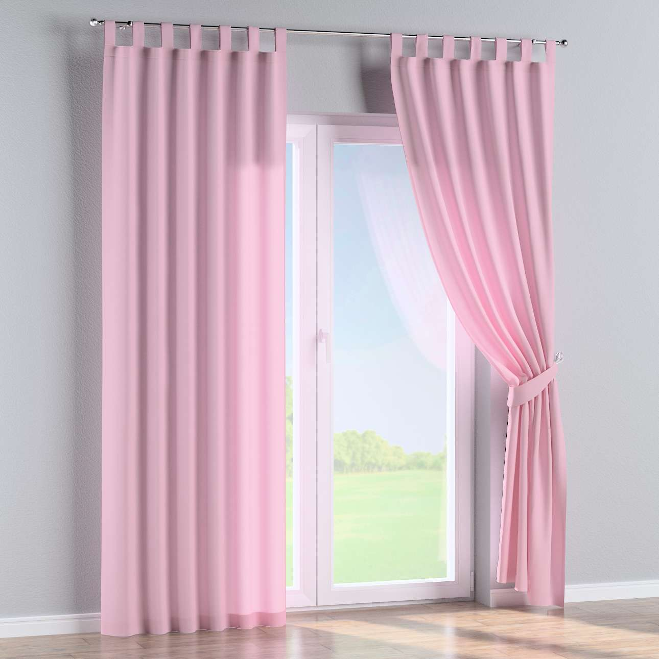 Tab top curtains in collection Loneta , fabric: 133-36