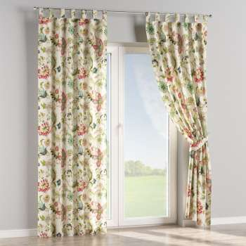 Tab top curtains 130 × 260 cm (51 × 102 inch) in collection Londres, fabric: 122-00