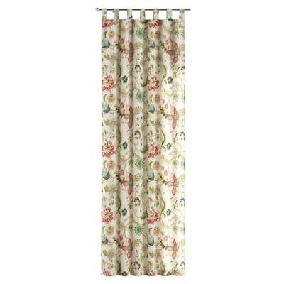 Zasłona na szelkach 1 szt. w kolekcji Londres, tkanina: 122-00