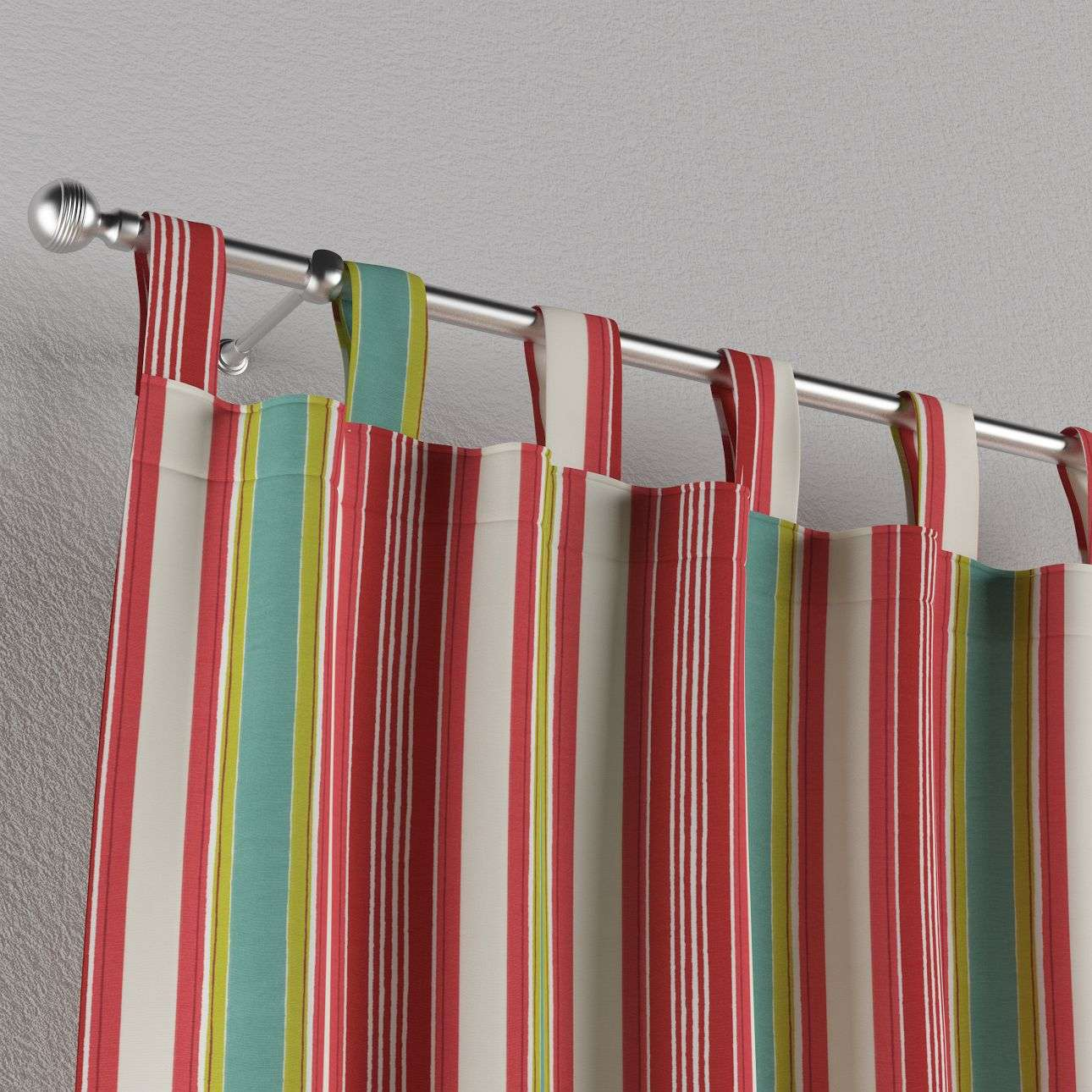 Tab top curtains in collection Londres, fabric: 122-01