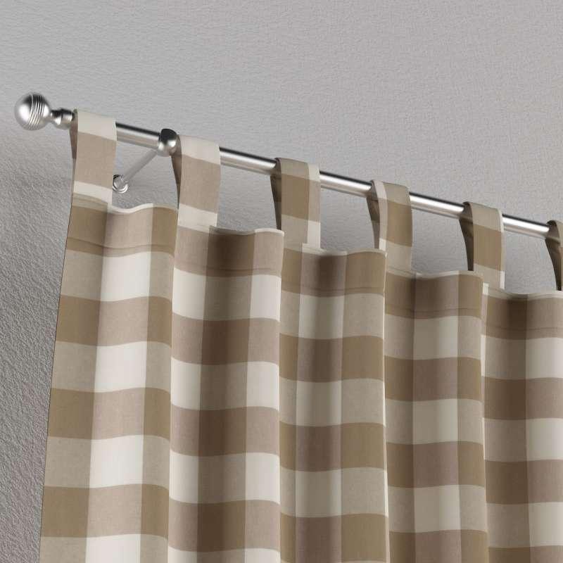 Záves na pútkach V kolekcii Quadro, tkanina: 136-08