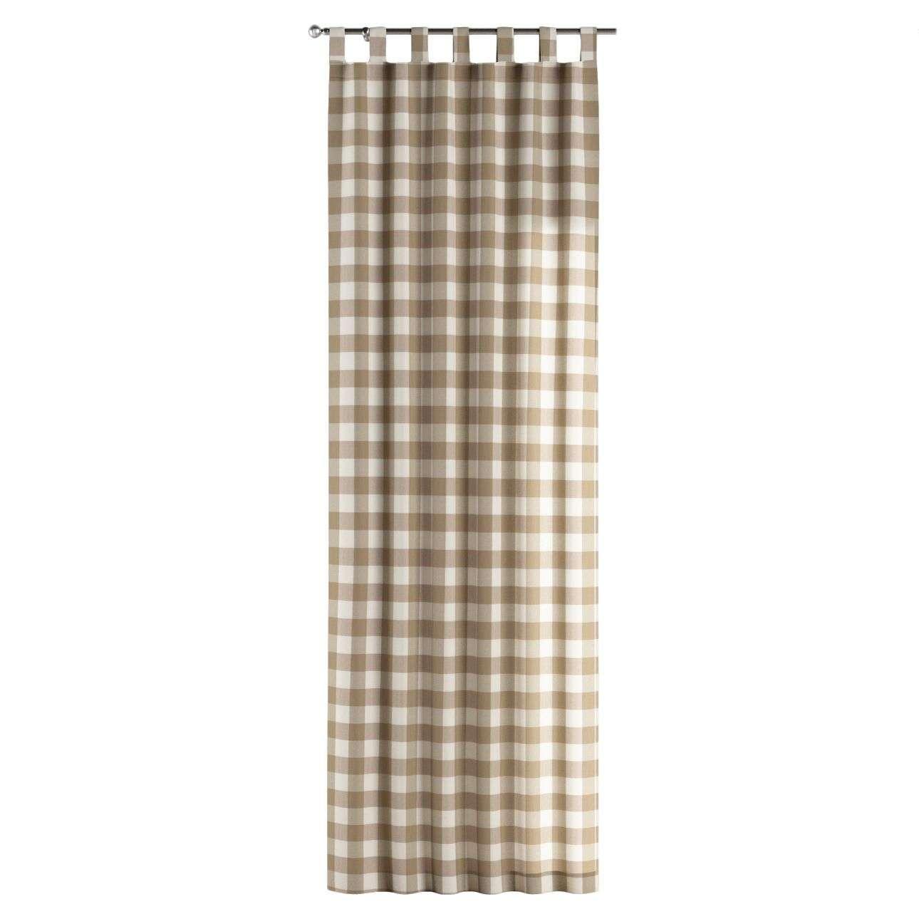 Kilpinio klostavimo užuolaidos 130 x 260 cm (plotis x ilgis) kolekcijoje Quadro, audinys: 136-08