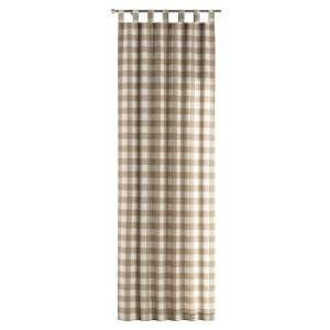 Závěs na poutkách 130 x 260 cm v kolekci Quadro, látka: 136-08