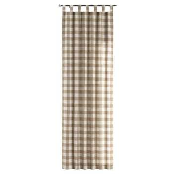 Zasłona na szelkach 1 szt. 1szt 130x260 cm w kolekcji Quadro, tkanina: 136-08