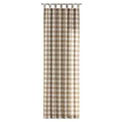 Zasłona na szelkach 1 szt. w kolekcji Quadro, tkanina: 136-08