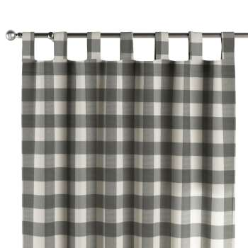 Tab top curtains 130 x 260 cm (51 x 102 inch) in collection Quadro, fabric: 136-13
