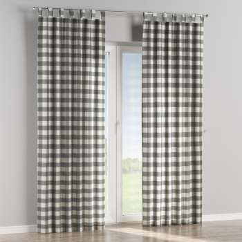 Tab top curtains 130 × 260 cm (51 × 102 inch) in collection Quadro, fabric: 136-13